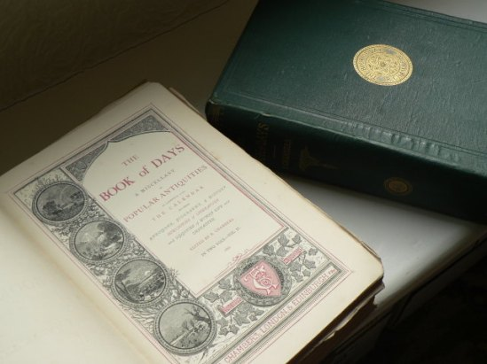 The two volumes of The Book of Days